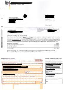 Handelsregisterschreiben Fake