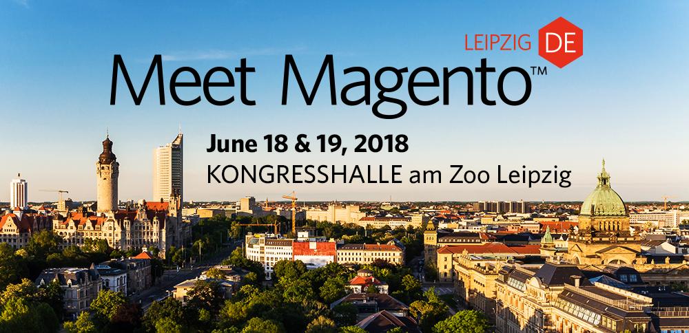Banner für die Meet Magento 2018.
