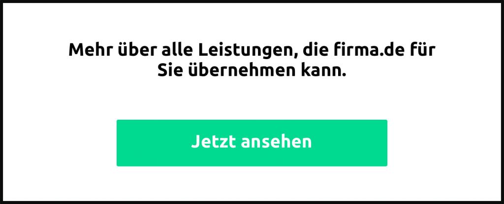 Leistungen von firma.de