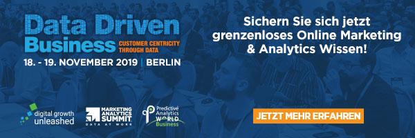 Data Driven Business 2019 in Berlin