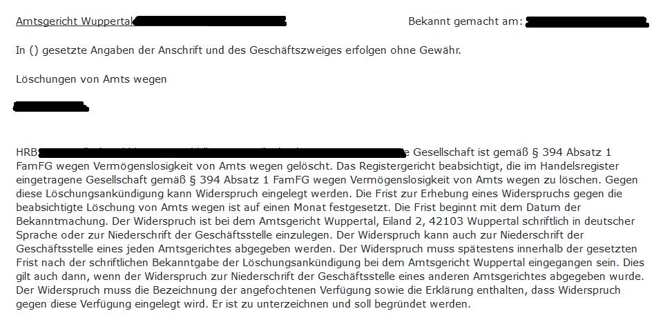 Merkblatt Liquidation Einer Gmbh Pdf Kostenfreier Download 8