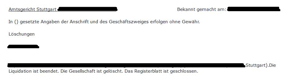 Liquidation Ihk Berlin 10